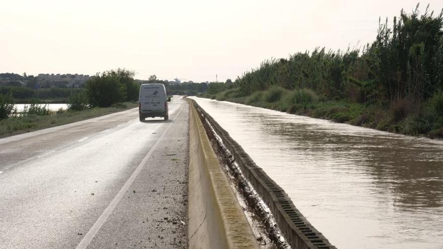 El río Segura sufre nuevos desbordamientos e inunda municipios