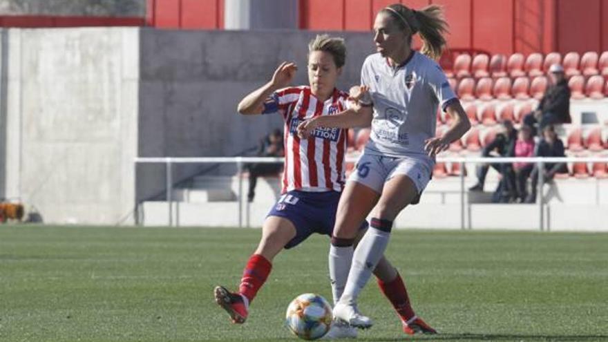 El Atlético aleja al Levante de la segunda plaza