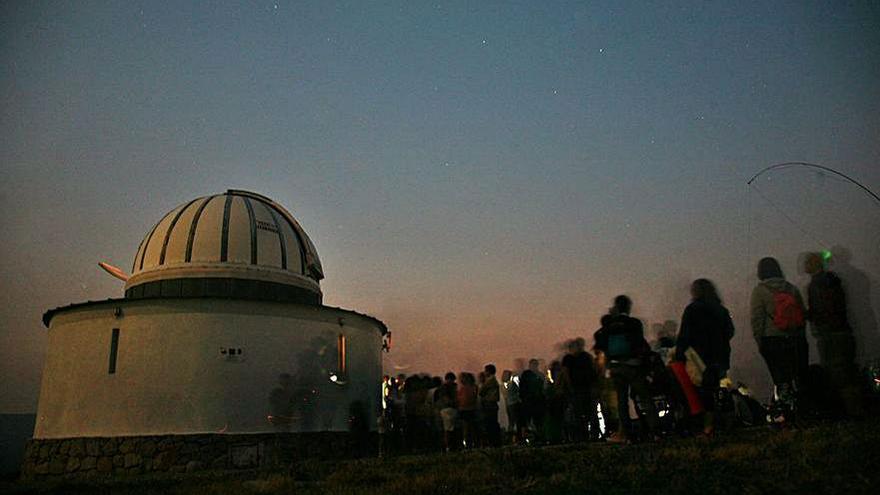 El observatorio de As Casetas en Forcarei suspende la jornada para ver las Perseidas