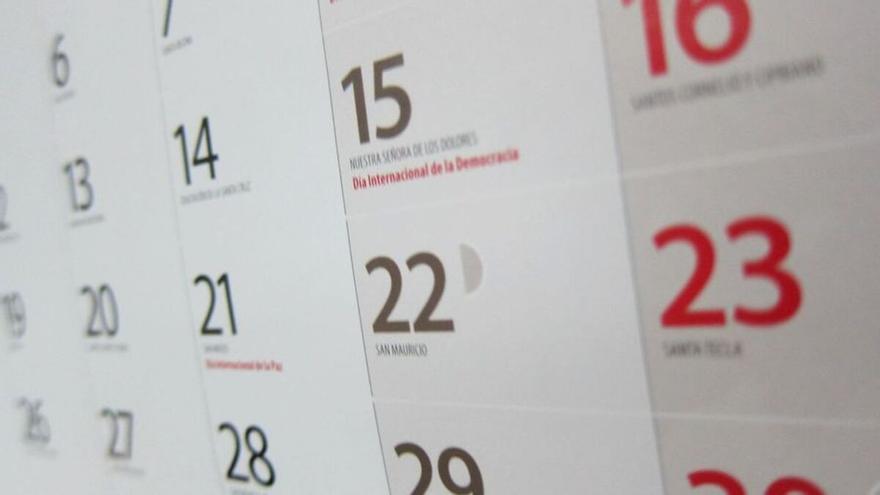 Calendario laboral de 2022: estos serán los puentes y días festivos