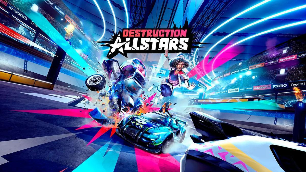 El videojuego 'Destruction AllStars'