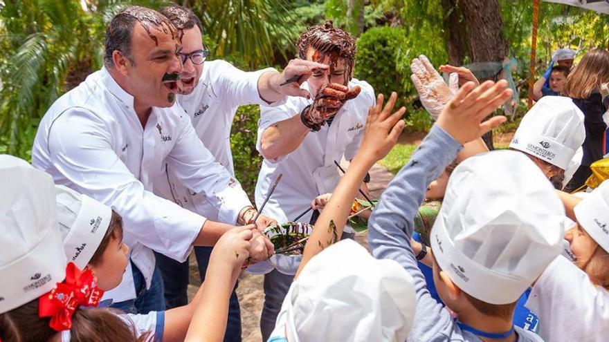 Chefs&Kids reúne el lunes a 27 cocineros con Estrella Michelin en Los Monteros
