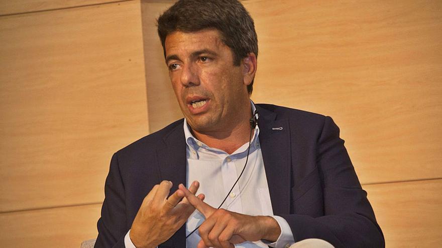 Carlos Mazón, presidente del PP alicantino y de la Diputación de Alicante. | LEVANTE-EMV
