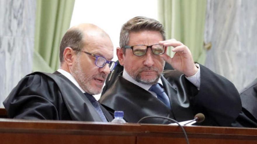 La grabación de la conversación entre Alba y Ramírez evidencia cómo prepararon la defensa del empresario
