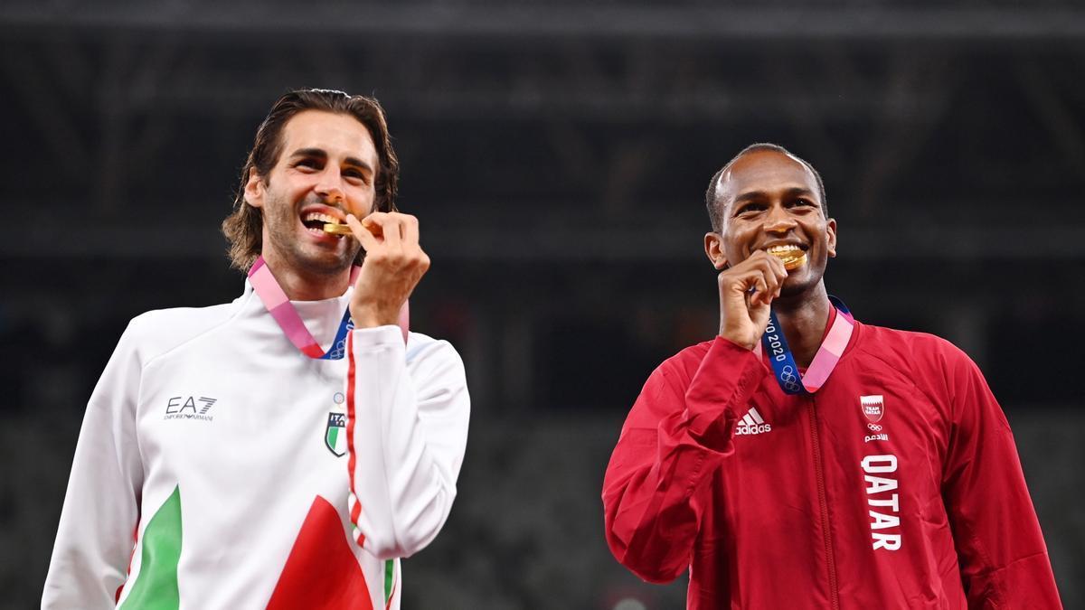 El gesto olímpico de Barshim y Tamberi que ensalza los valores de los Juegos.