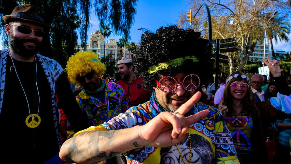 Entierro del Boquerón del Carnaval de Málaga 2020