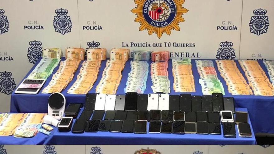 Polizei zerschlägt Bande von Drogenhändlern an der Playa de Palma