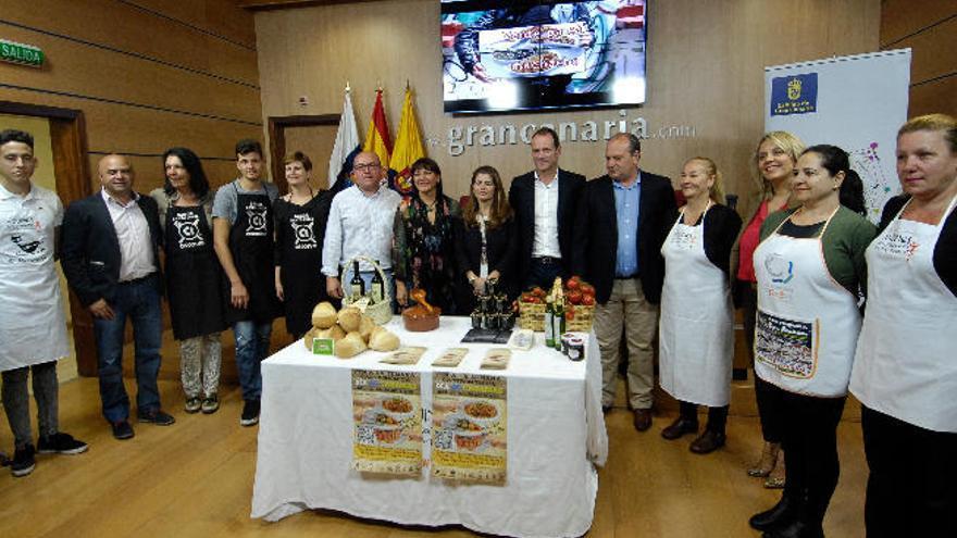 Vecindario y Agüimes abren su primera ruta gastrónomica con productos locales