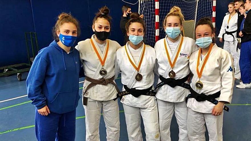 Esport7 i Judo Moià fan un gran paper a la Copa Catalunya júnior
