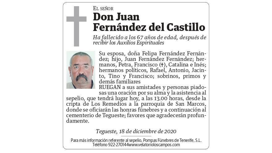 Juan Fernández del Castillo