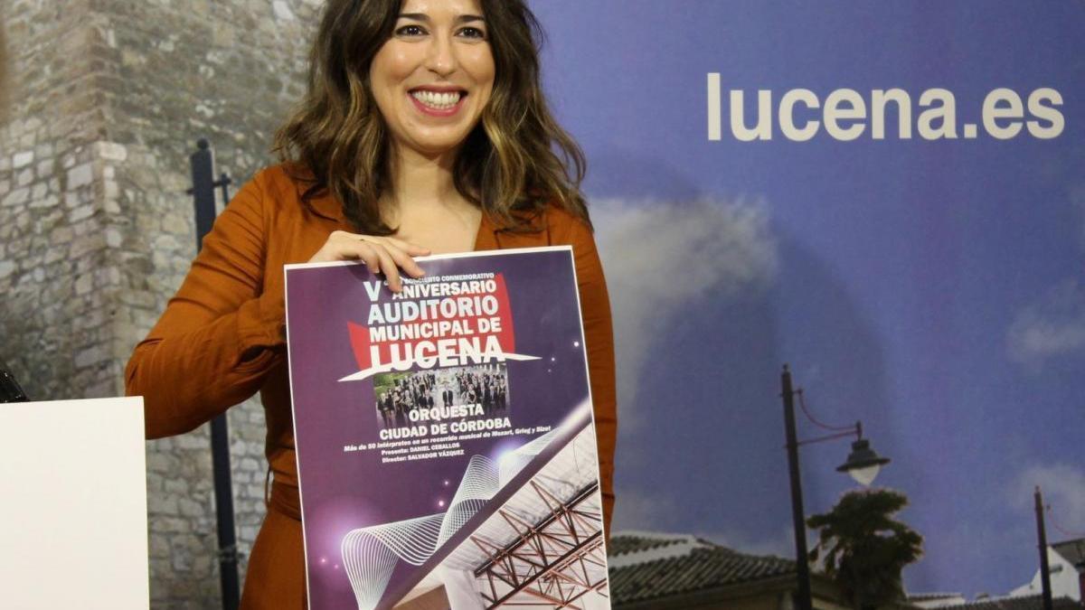 El Auditorio Municipal de Lucena conmemora su  5º aniversario con un concierto de la Orquesta de Córdoba