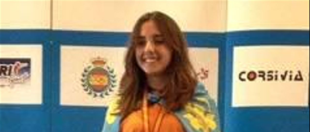 La favarera Gloria Fernández se cuelga el oro en el nacional de tiro olímpico