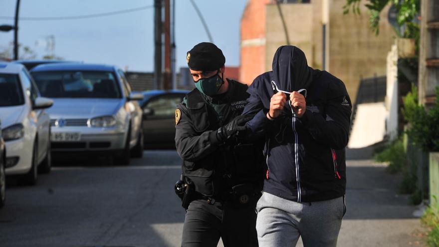 Detención de uno de los implicados en la operación contra el narcotráfico de Ribadumia y A Illa
