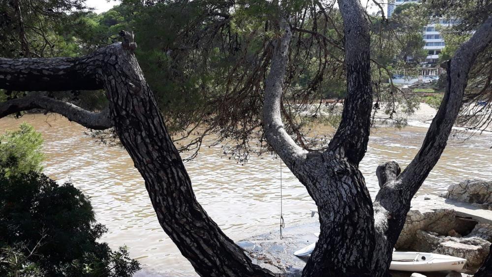 Gewitterregen über dem Gebiet von Cala Ratjada