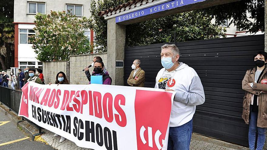 El comité del Scientia reclama a Crespo que medie con la empresa