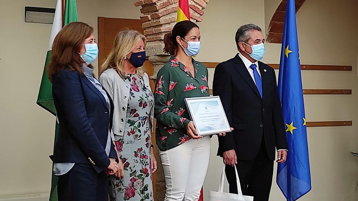 Entrega del premio al Hospital Quirónsalud Marbella