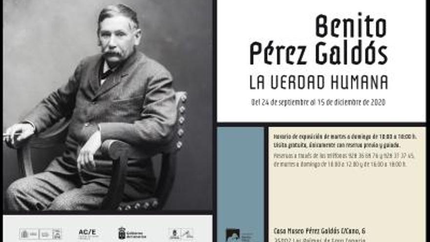 Exposición Benito Pérez Galdós. La verdad humana