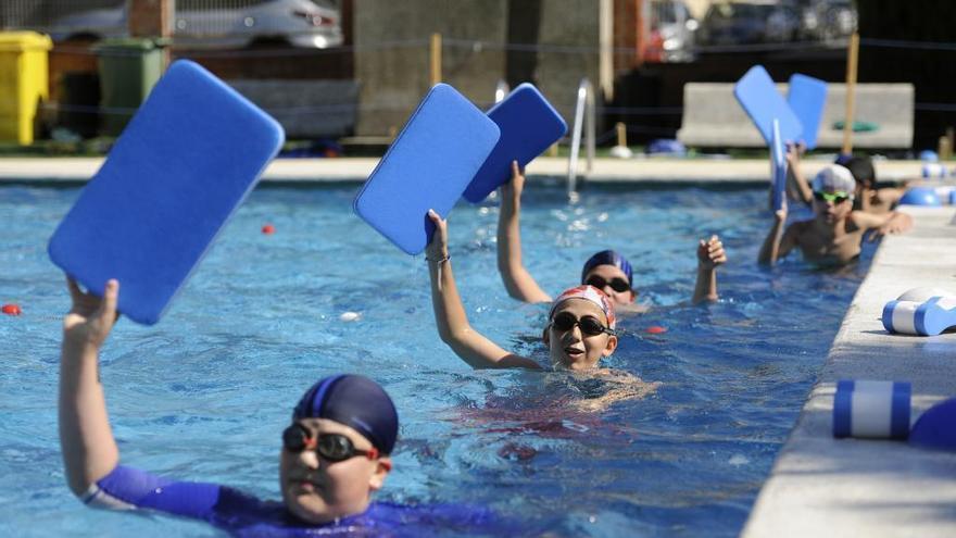 Se suspenden los cursos de natación en las escuelas deportivas municipales