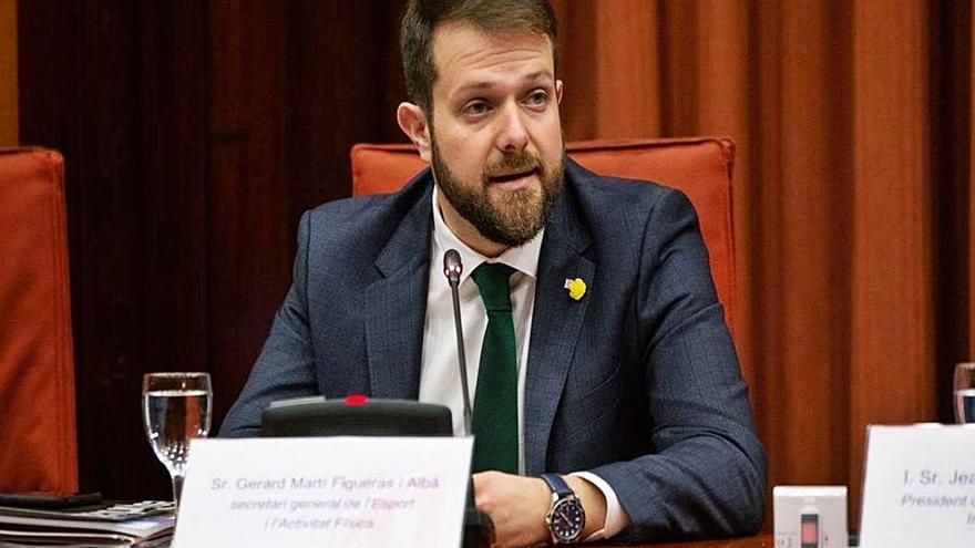 Arresten el Secretari d'Esports de la Generalitat per un cas de desviament de fons públics