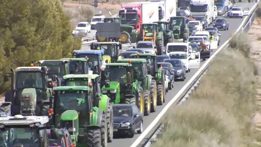 Los agricultores andaluces vuelven a exigir precios justos