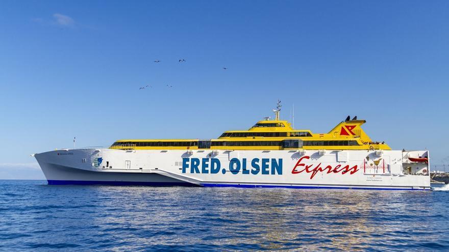 Fred. Olsen Express reforzará la próxima semana sus conexiones con La Palma