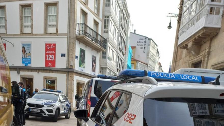 Dos detenidos por un supuesto delito de violencia de género en A Coruña