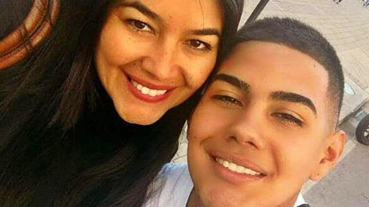 Lilian Rivera i el seu fill Julián, en una imatge d'arxiu