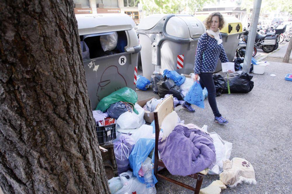 vaga dels serveis de neteja a Girona.