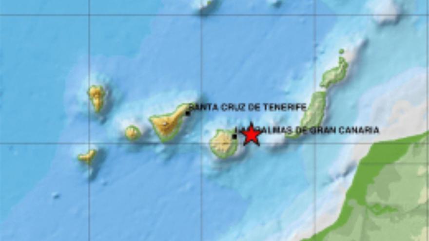Localizados 158 terremotos en Canarias el mes de mayo
