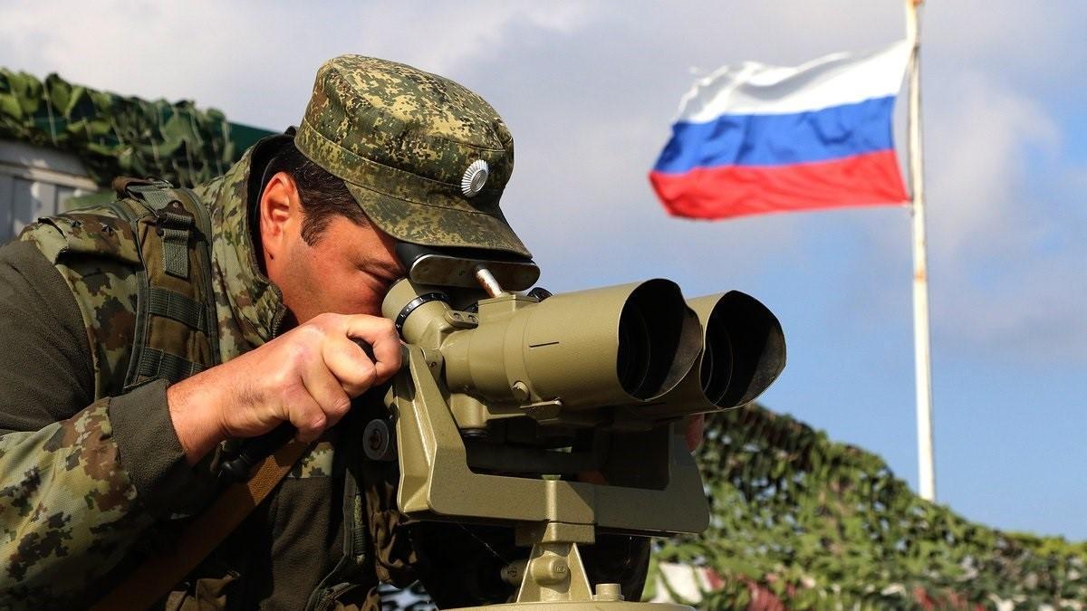 Un militar ruso desplegado en Crimea