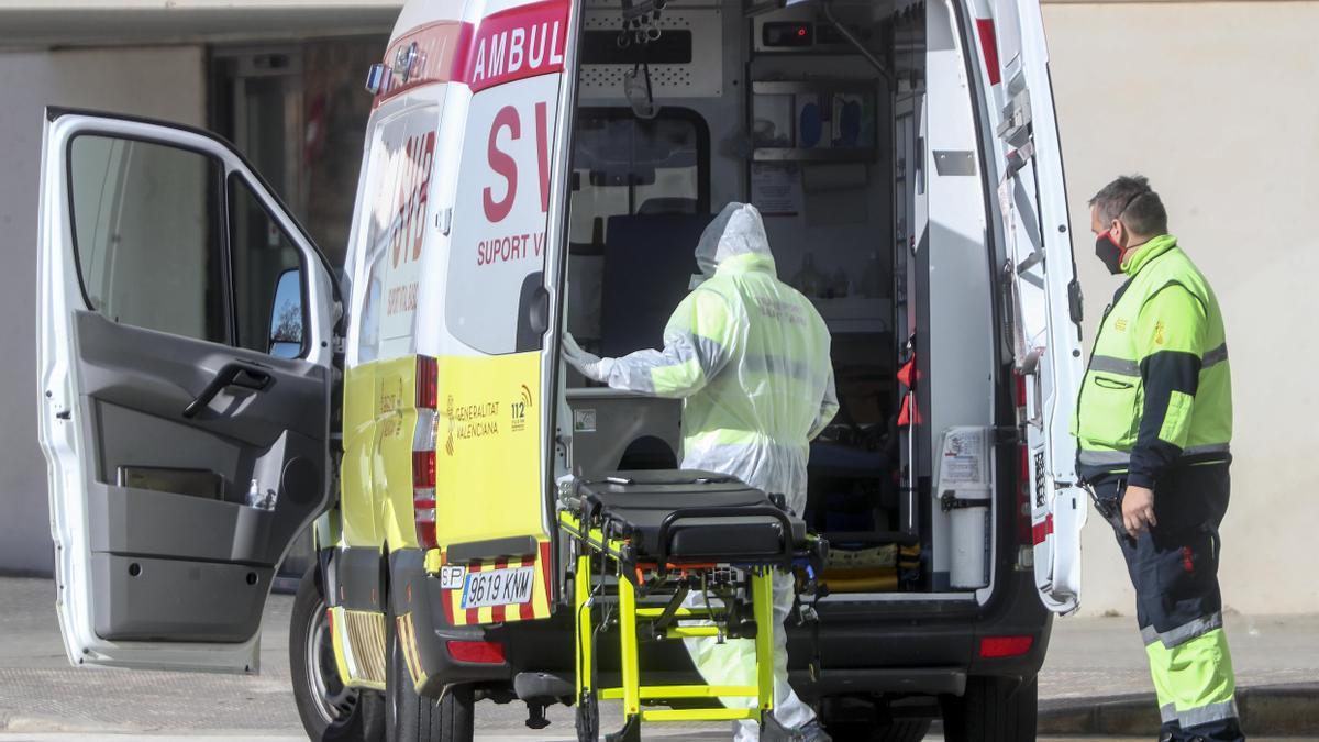 Casi 45.000 personas de la Comunitat Valenciana han tenido que ser ingresadas por covid-19