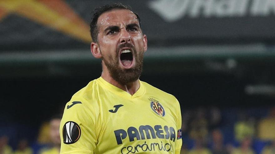 Un doblete de Alcácer salva el triunfo del Villarreal