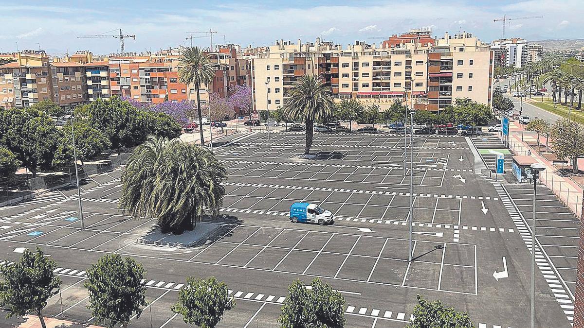 El nuevo parking disuasorio es el más moderno que se ha construido hasta ahora