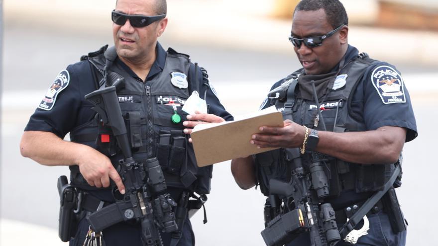 Un policía muere en el tiroteo cerca del Pentágono