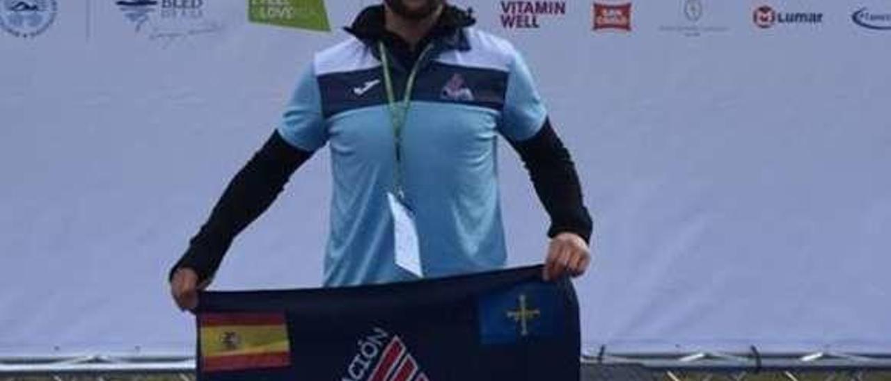 Mario Fernández Gorgojo, ayer en Bled (Eslovenia).