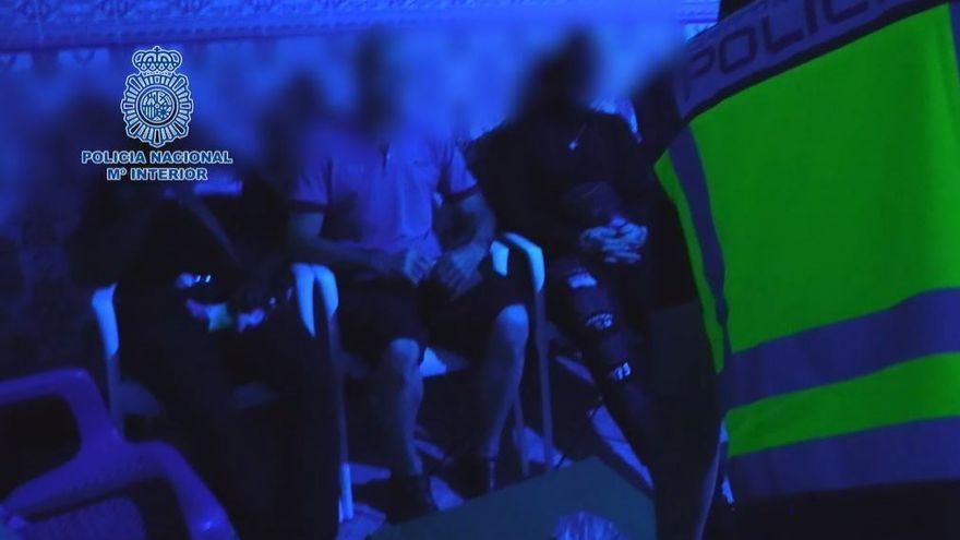 Detenidas 22 personas por explotar sexualmente a mujeres en Almería y Marbella