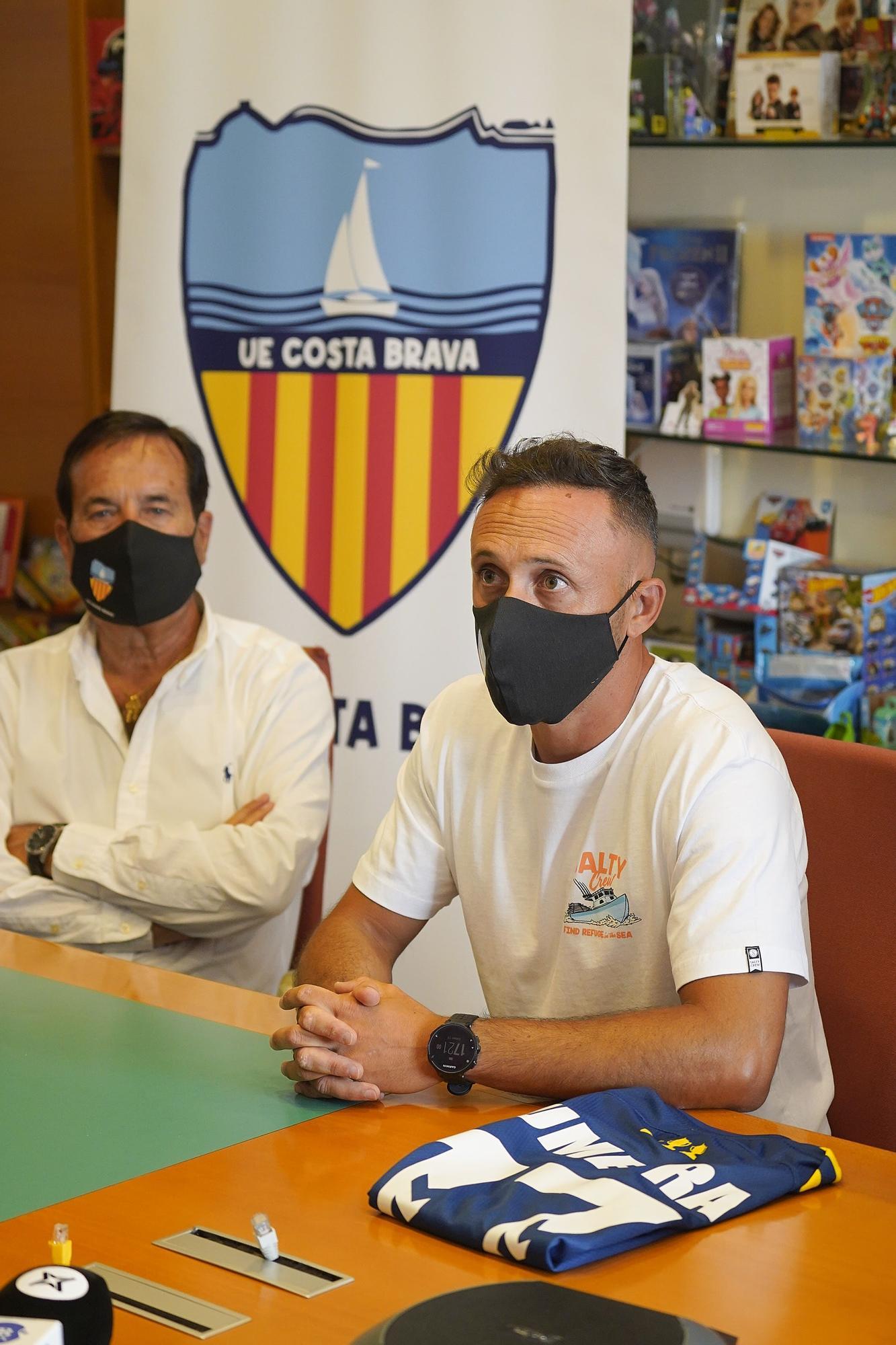 El Llagostera presenta Jordi Xumetra