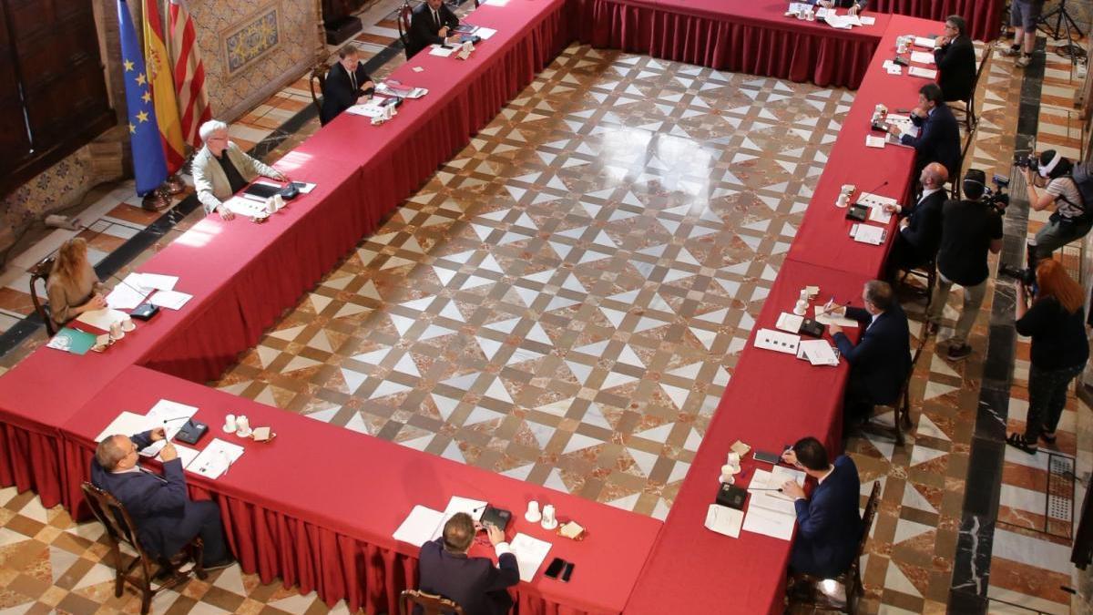 El municipalismo ofrece unidad a la Generalitat para gestionar la reconstrucción