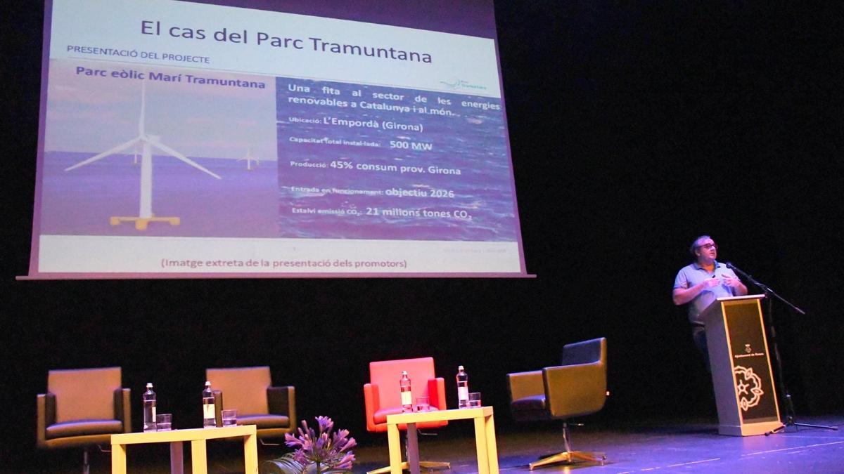 Antonio Turiel a la conferència: «Veritats i mentides de la transició ecològica: el cas del parc Tramuntana»