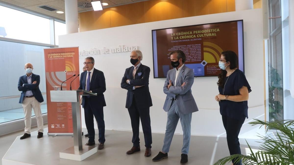 Málaga acoge del 20 al 22 de octubre el Congreso Internacional de Periodismo de la Fundación Manuel Alcántara