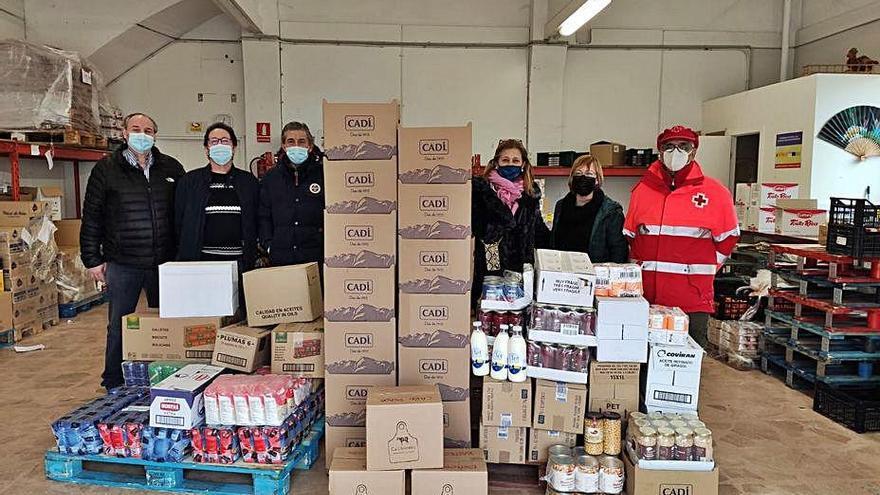 Els productes de l'escudellada de la Seu van a l'entitat Aliments per la Solidaritat