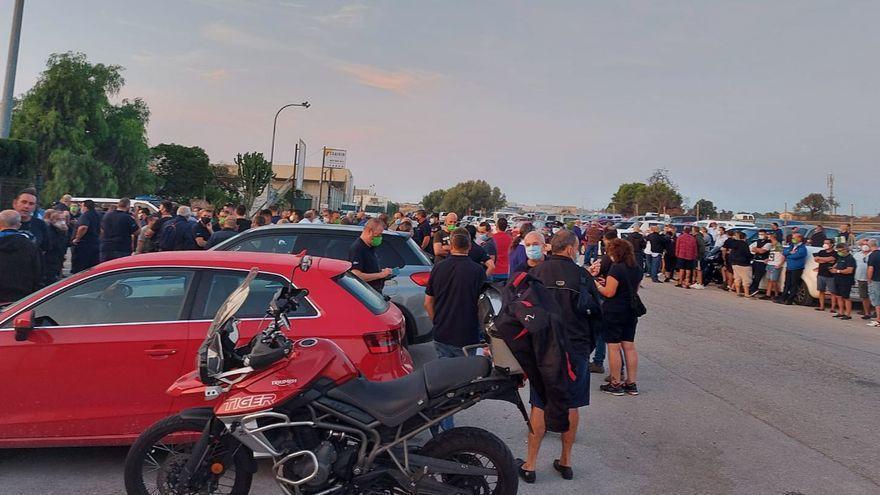 Der Streik der Busfahrer in Palma geht auch am Freitag weiter