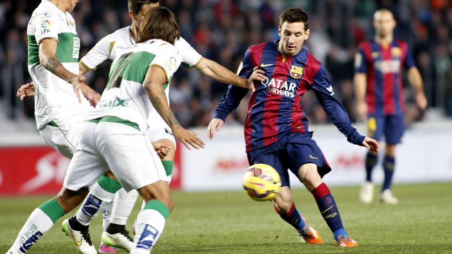 Messi examinará al Elche