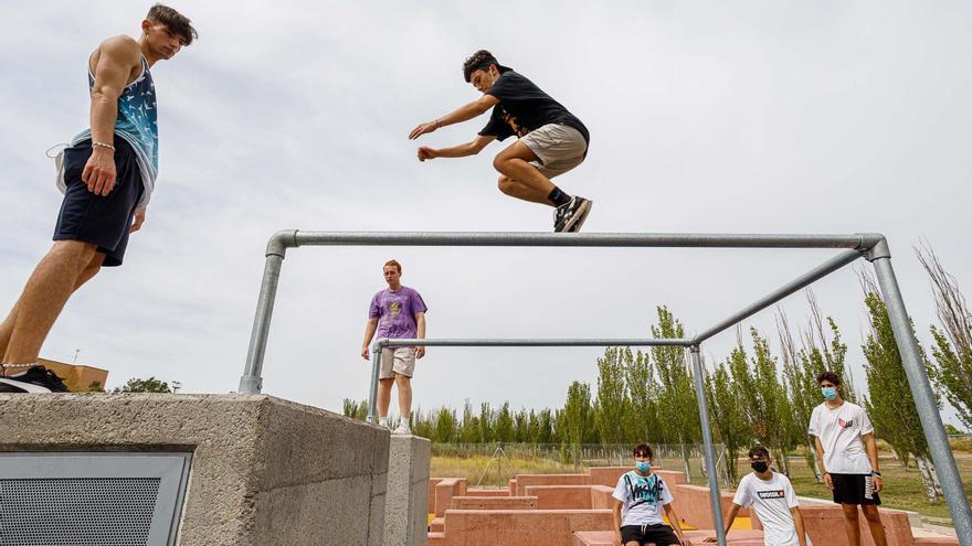 Acrobacias y saltos para superarse a uno mismo