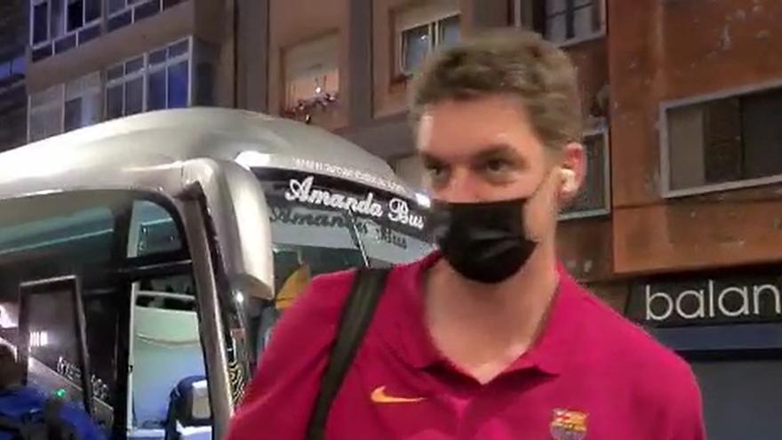 Pau Gasol vuelve a Gran Canaria