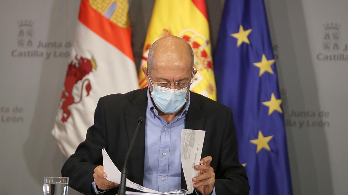 Igea durante la rueda de prensa posterior al Consejo de Gobierno