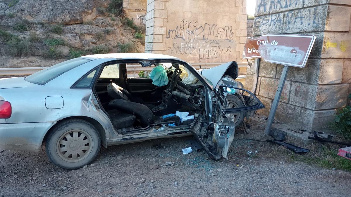 Accidente mortal en Albelda.
