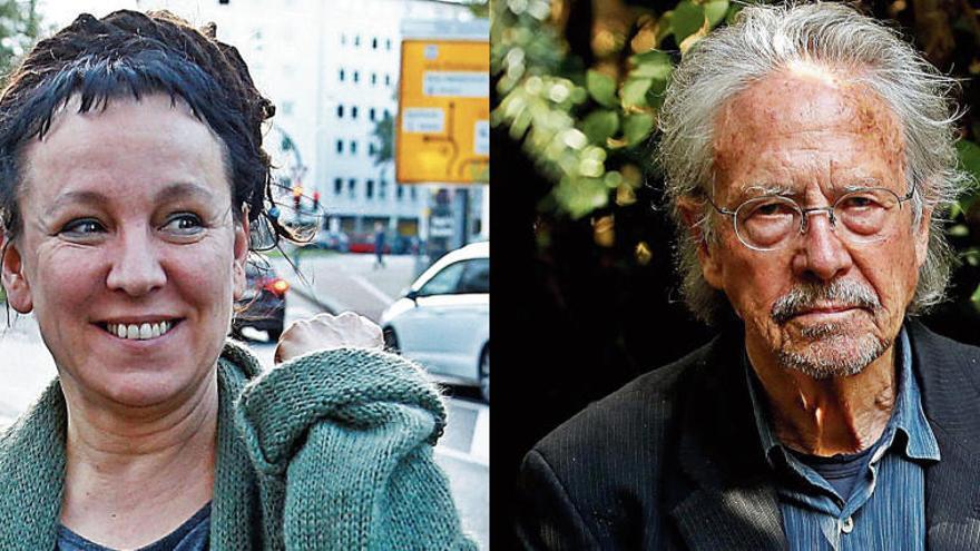 El Nobel premia el ingenio lingüístico de Handke y la agudeza de Tokarczuk