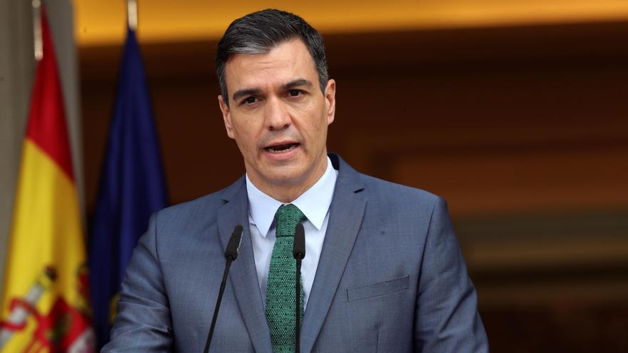 """Sánchez: """"Somos un Gobierno feminista y lo seguiremos siendo"""""""