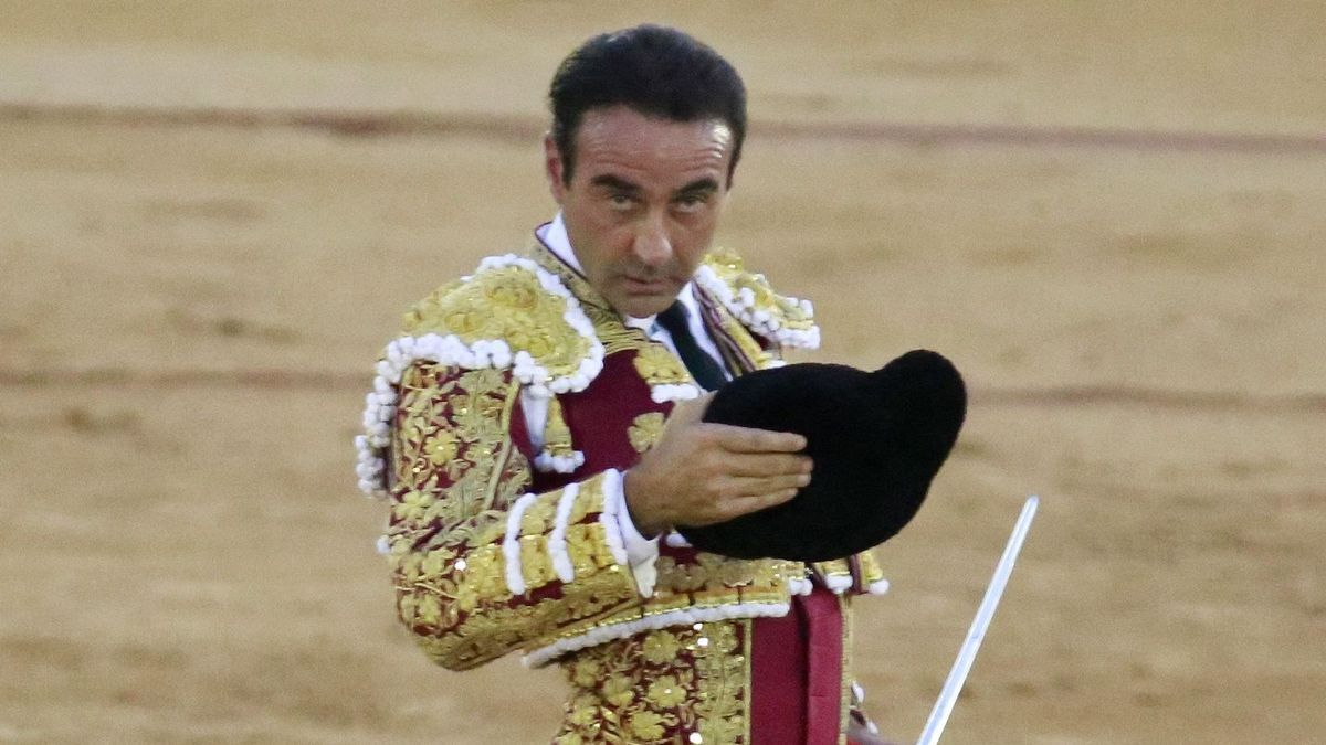 Enrique Ponce, in a file image.